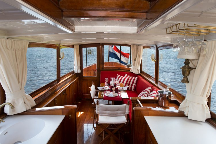 classic motor boat for sale