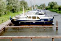 Ligplaats boot Braassemermeer klein