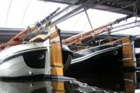 Winterstalling overdekte jachthaven Woubrugge