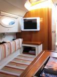 luxe sloep met toilet cabin slaapplaatsen